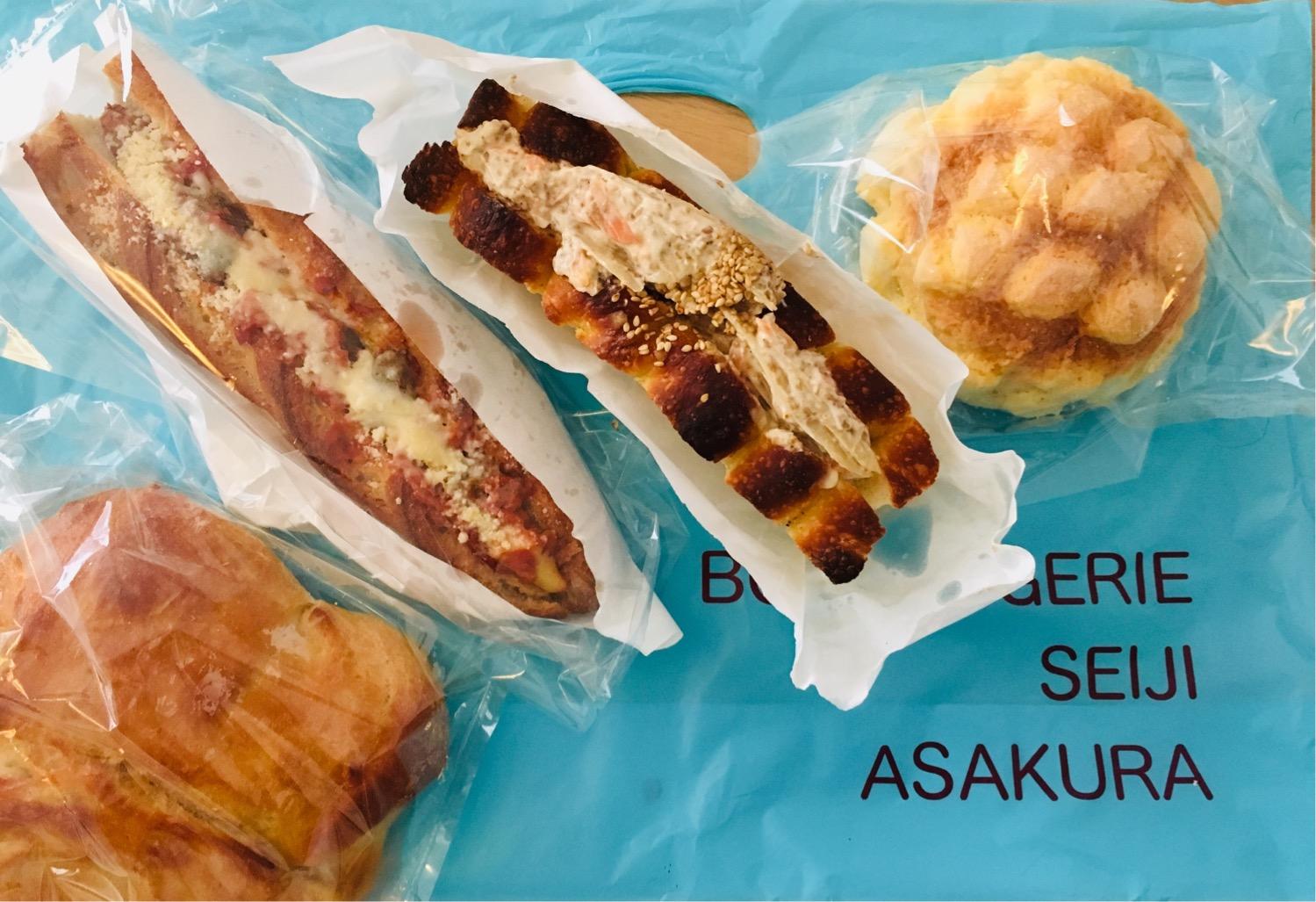 高輪ゲートウェイのパン屋おすすめ★セイジアサクラは連日行列の絶品揃い