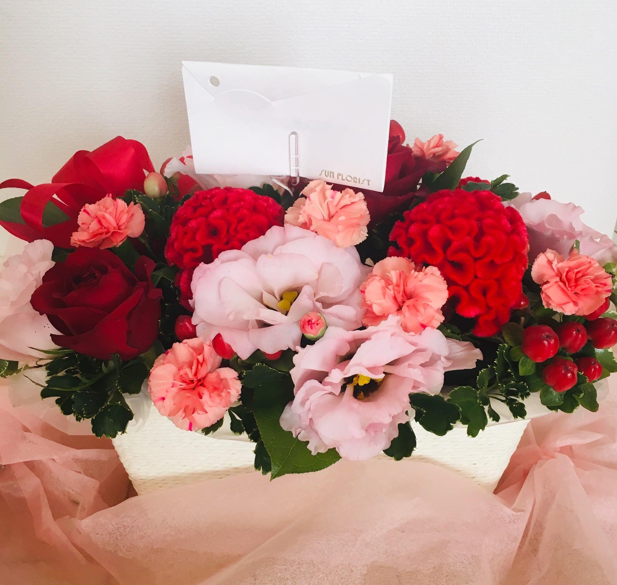サンフローリストは白金高輪の花屋!母の日やお誕生日花束を♡