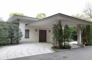 高輪皇族邸写真 正面玄関