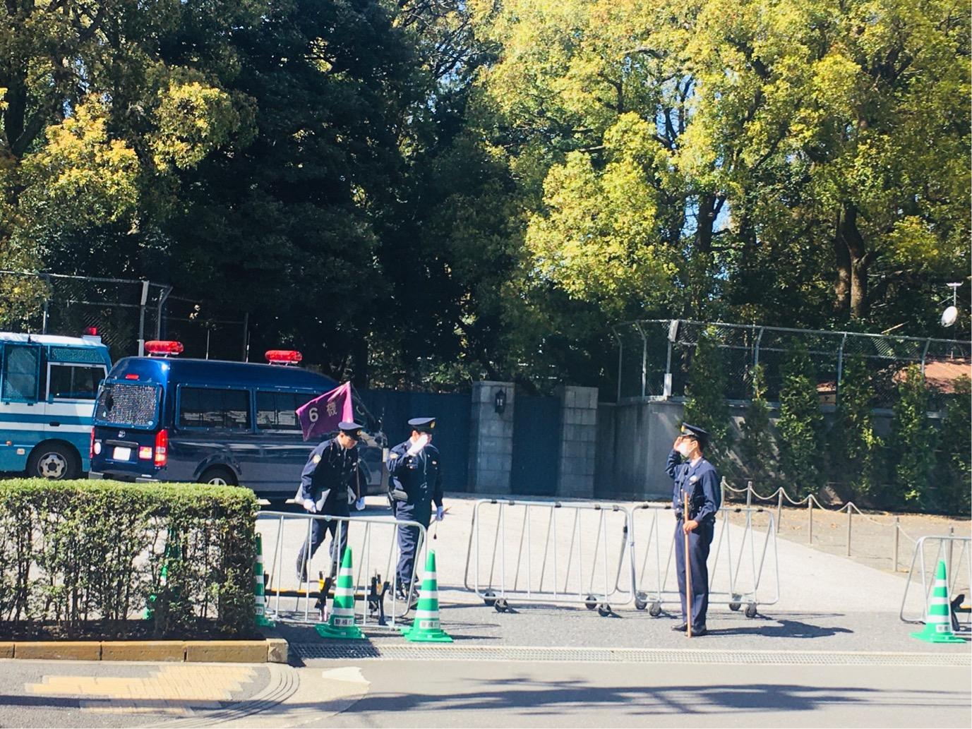 高輪皇族邸の警備が3月25日から本格稼働!強化された警備体制をレポート